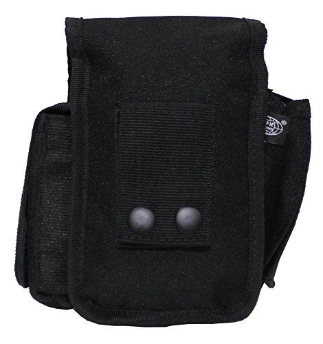 Bolso de cinturón con 3 Compartimentos - Negro