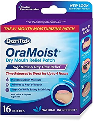 Dentek OraMoist Dry Mouth Relief Patch 16 ea