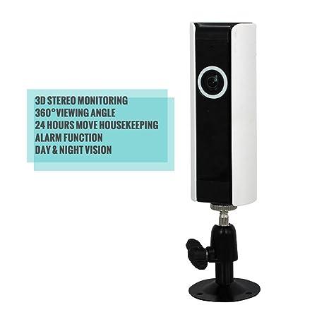 pinkbe Mus 720P HD casa cámaras de seguridad Seguridad Vigilancia Detector de movimiento para casa Soporte
