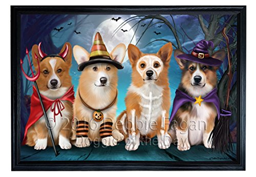 Happy Halloween Trick or Treat Pembroke Welsh Corgi Dog