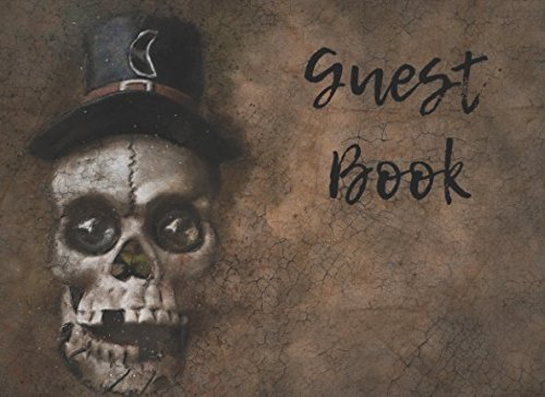 Guest Book: Scary Costume Party Guest Book for Halloween and (Halloween Party Interior Design)