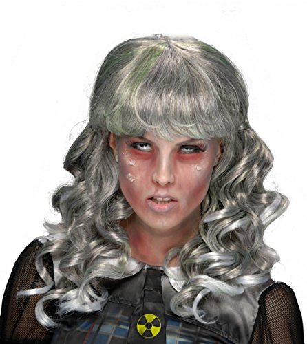Nuclear Zombie Costume (Rubie's Costume Nuclear School Girl Wig, Multicolor, One Size)