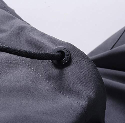 Impermeabile Alpinismo Abbigliamento Sottile A Esterna Antivento Nero Giacca Vento Singolo Giacca Uomo Strato zBW40