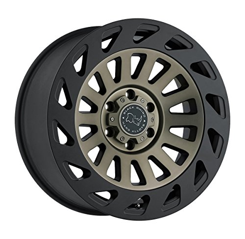 Black Rhino MADNESS Black Wheel with Painted Finish (18 x 9. inches /6 x 139 mm, 12 mm Offset) (Best Tuner For Nissan Titan)