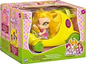 Pop Pixie - Chatta y su vehículo de paseo (producto Bandai)