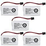 Kastar 5-PACK BBTY0651101 model BT1007 Cordless Phone Battery for Uniden BT-1007 BT-1015, CEZAI2998 DECT1340 DECT1363 DECT1363BK DECT1363-2 DECT1480 Series DECT1560 DECT1580 DECT1588 EZAI2997 EZI2996