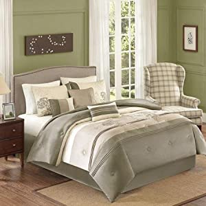 Amazoncom Better Homes and Gardens 7 Piece Comforter Set