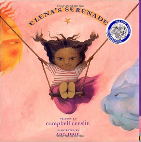 Children's book cover for Elena's Serenade by Cambell Geeslin for 18 children's books to teach children about social issues
