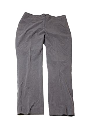 81a9984205ead Image Unavailable. Image not available for. Color: Tahari ASL Grey Heather Slim  Pants