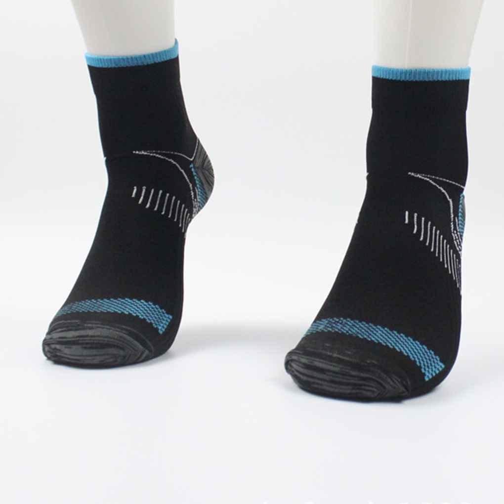 Floridivy 1 Paar Unisex Fu/ß Kompressionssocken Anti-Fatigue Fersensporn Fersensporn Schmerz Socken Stricken f/ür M/änner Frauen