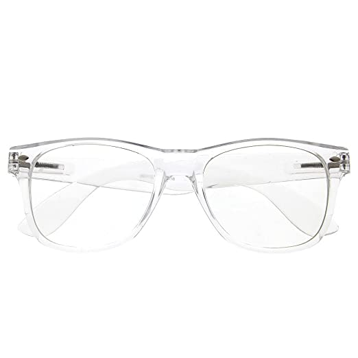 Amazon.com: grinderPUNCH Crystal Clear Frame Lens Transparent ...