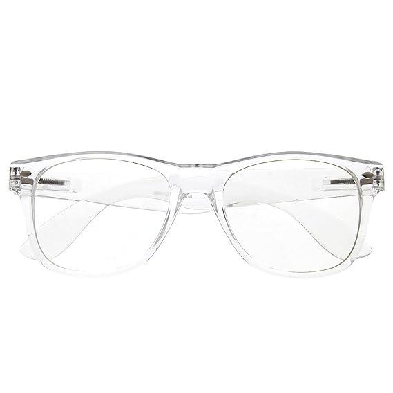 Amazon.com: grinderPUNCH Crystal Clear Frame Lens Transparent ...