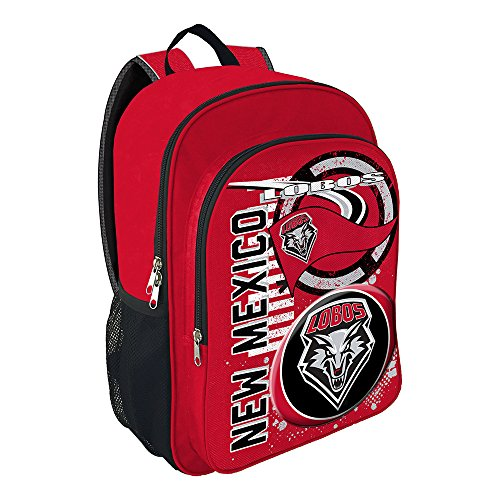 The Northwest Company NCAA University of New Mexico Accelerator Backpack, One Size, Red