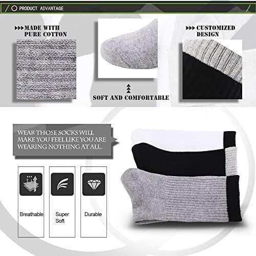 Wayli 6 Pack leisure Socks