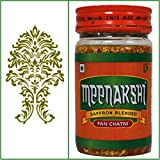 ONE Bottle. 200g Meenakshi Saffron Blended Pan Chatni. Export Quality. June 2014