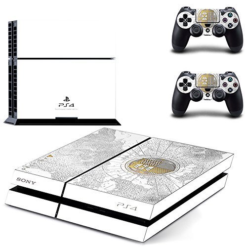 Lucky Store Brand New Skin Sticker of Destiny The Taken King Limited Edition Skin Decals Designed for Sony PS4 PlayStation 4 Console and 2 Controllers Skin Covers
