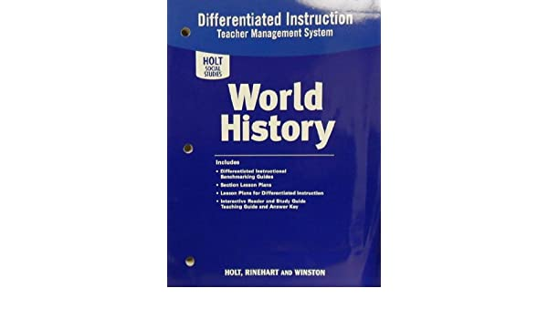 Amazon.com: World History: Differentiated Instruction Teacher ...