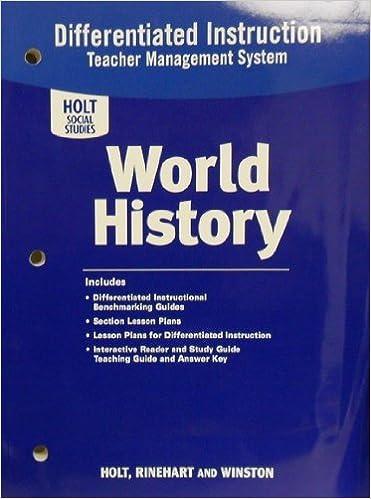 Workbook differentiated instruction worksheets : Amazon.com: World History: Differentiated Instruction Teacher ...
