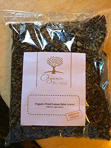 Organic Bio Herbs-Organic Dried Lemon Balm Leaves (Melissa Officinalis) 4 - Leaves Melissa
