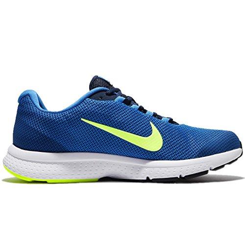 Nike Nike runallday–Scarpe da corsa, uomo, Blu–(Italy Blue/volt-Blue jay-midnight Navy)