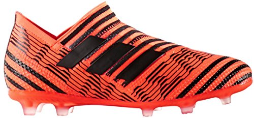 adidas Kids' Nemeziz 17+ 360AGILITY FG Junior Soccer Cleats (Sz. 5.5) Solar Orange, Black by adidas
