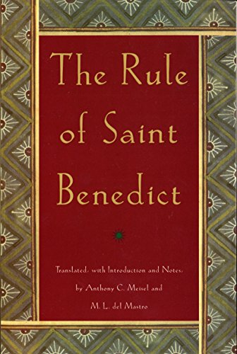 The Rule of St. Benedict (An Image Book Original) (Rule Of Saint Benedict)