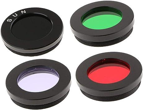 gazechimp 1.25 Telescope Eyepiece Lens Color Filter Set for Moon Planet Star Orange