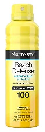 Neutrogena Beach Defense Spf 100 Spray 6.5 Ounce 3 Pack