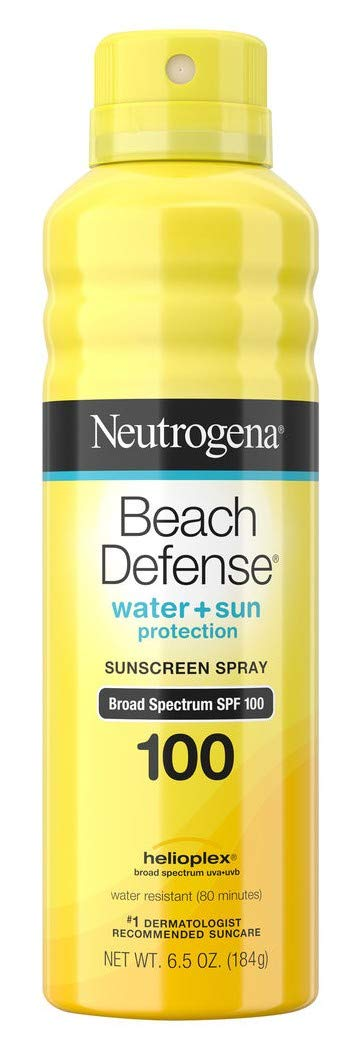 Neutrogena Beach Defense Spf#100 Spray 6.5 Ounce (3 Pack)