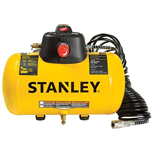 Stanley 2-Gallon 115-PSI 120-Volt Horizontal Portable Electric Air Compressor