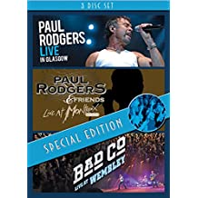 Live In Glasgow / Live At Montreux: 1994 / Bad Company: Live At Wembley [Dvd]*** Europe Zone ***