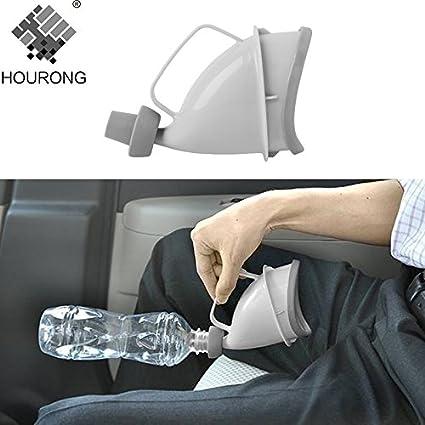 Samy Best 1pc Portable Travel Urinal Car Handle Urine Bottle Funnel Tube Outdoor Camp Urination