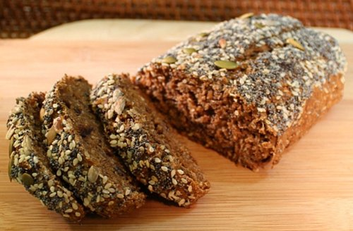 Manna breadâ ® Fig, Hinojo Y Lino: brotado Pan individual ...