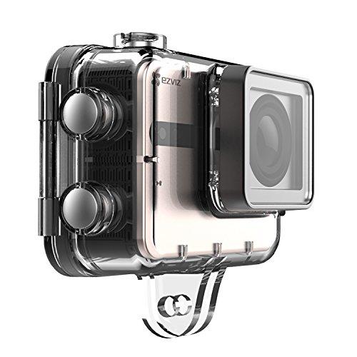51s4V9d-TQL EZVIZ 5 PLUS Ultra HD 4K Video Wifi Sports Action Camera with Waterproof Touchscreen Case, Gold