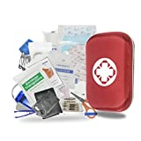 LEZCHI 120 PCS First Aid Kit, survival Kit Emergency Kit earthquake survival kit Trauma Bag Waterproof Portable Essential Injuries & Red Cross Medical Emergency Equipment Kits for Car Home Work Office