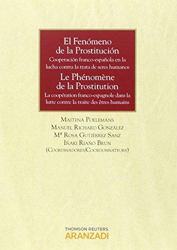 Descargar Libro El Fenómeno De La Prostitución: Cooperación Franco-española En La Lucha Contra La Trata De Seres Humanos. Mª Rosa Gutierrez Sanz