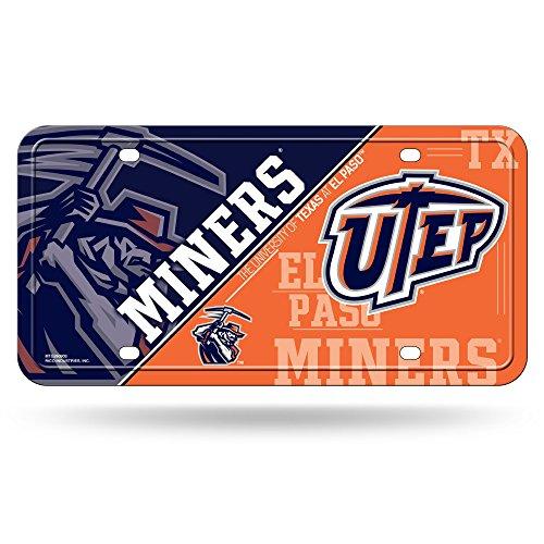 NCAA Texas El Paso Miners Metal Auto - Paso Framing El