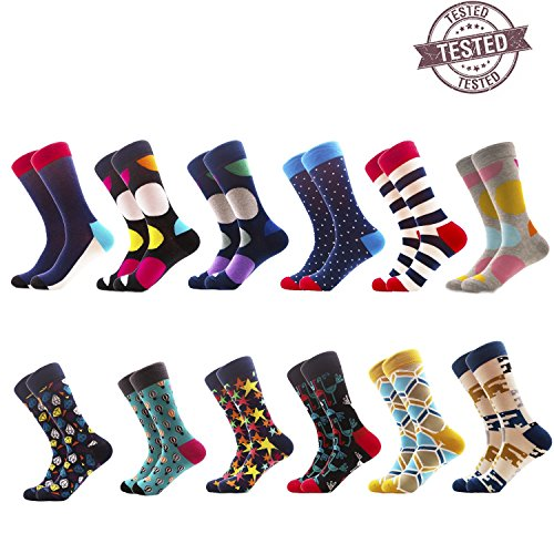 Funky socks Funny Socks Patterned Socks Cotton Colorful...