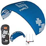 HQ Rush V Pro 300 Trainer Kite 3M 3-Line Kiteboarding Power Traction Snow Surf