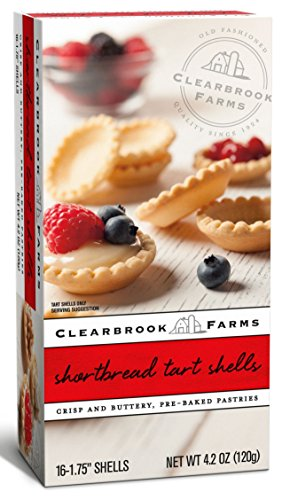 Clearbrook Farms Mini Tart Shells, 16 Count, 4.2 Oz.