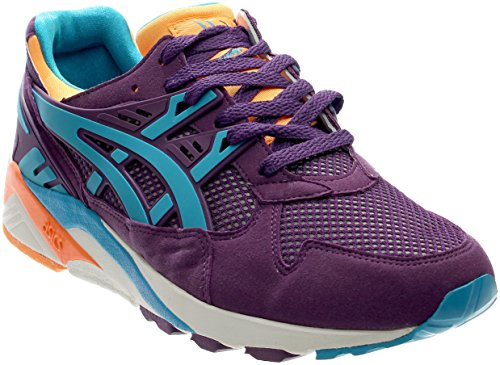 Mens Retro Trainers - ASICS Men's Gel-Kayano Trainer Retro Running Shoe, Purple/Atomic Blue, 11 M US