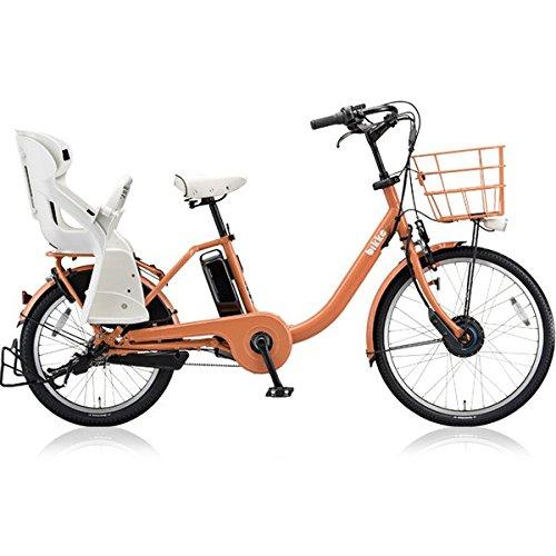 BRIDGESTONE(ブリヂストン) 18年モデル ビッケモブ dd BM0B48 前:24インチ 後:20インチ 電動アシスト自転車 専用充電器付 B0764BDKVS E.Xオークルオレンジ E.Xオークルオレンジ