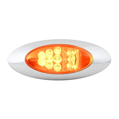 Grand General 77270 LED Light (Oval Y2K Amber/Amber Side Marker and Turn), 1 Pack: Automotive