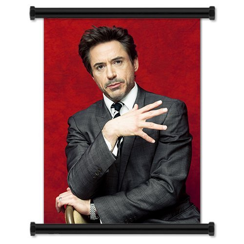 Robert Downey Jr. Sexy Fabric Wall Scroll Poster  Inches