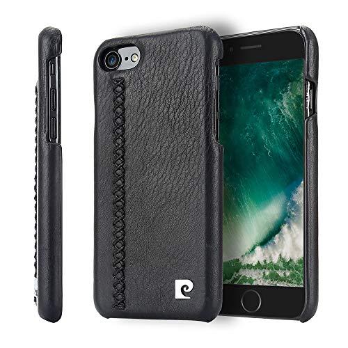 Capa Para Iphone 7 Iphone 8 Couro Legítimo Original [Couro] [Capa iPhone] [iPhone 7] [iPhone 8] [Capinha Protetora] [Preto], Pierre Cardin, PC67-01, P