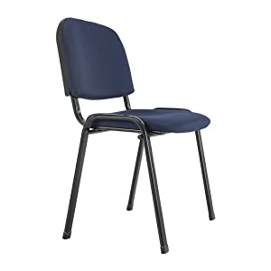 Durian Shell Visitor Chair (Blue)