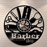 Hairdresser Barber Shop Salon Vinyl Record Wall
