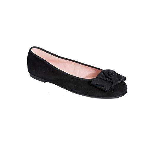 Pretty Ballerinas - Mocasines de ante para mujer negro 41, color, talla 40: Amazon.es: Zapatos y complementos