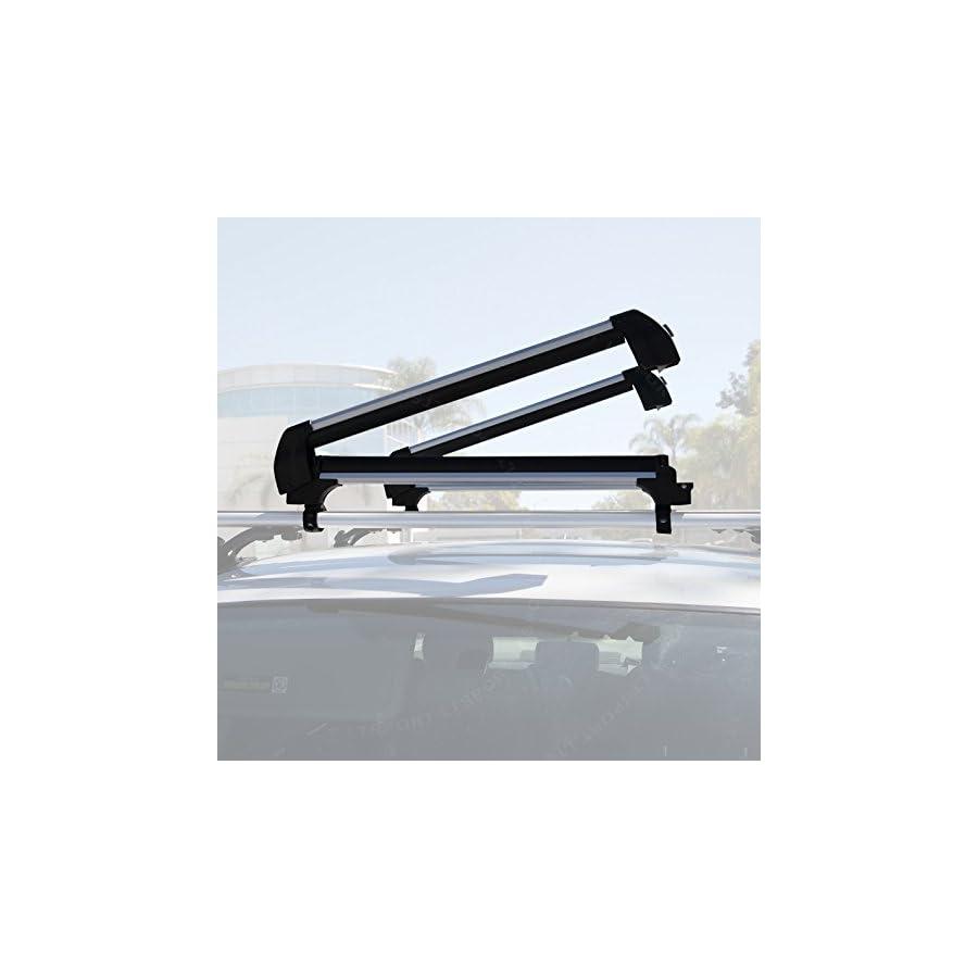 LT Sport SN#100000001024 205 Roof Top Cross Bar Snowboard Ski Carrier Rack for Acura Mdx, RDX