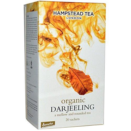 Hampstead Tea, Organic, Darjeeling Tea, 20 Sachets, 1.41 oz (40 g) Hampstead Tea, Organic, Darjeeling Tea, 20 Sachets, 1.41 oz (40 g) - 2pcs